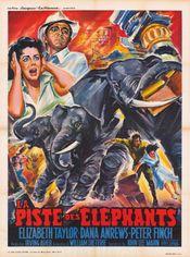 Affiche La Piste des éléphants