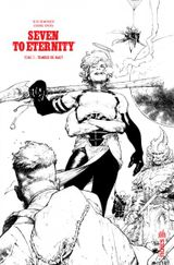 Couverture Tomber de haut - Seven to Eternity (N&B), tome 3