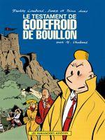 Couverture Le Testament de Godefroid de Bouillon - Les Aventures de Freddy Lombard, tome 1
