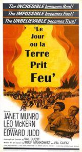 Affiche Le Jour où la Terre prit feu