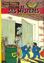 Couverture Oscar et ses mystères - Tif et Tondu, tome 3