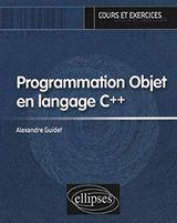 Couverture Programmation objet en langage C++