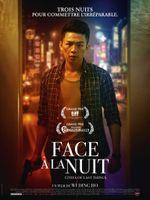 Affiche Face à la nuit