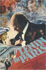 Affiche Lénine à Paris
