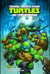 Couverture L'Attaque sur le Technodrome - Teenage Mutant Ninja Turtles, tome 7