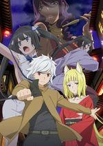 Affiche Dungeon ni Deai o Motomeru no wa Machigatte Iru Darouka: Familia Myth II