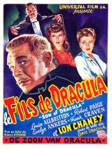 Affiche Le Fils de Dracula