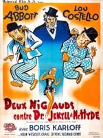 Affiche Deux nigauds contre le Dr Jekyll et Mr Hyde