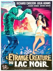 Affiche L'Étrange Créature du lac noir