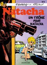 Couverture Un trône pour Natacha - Natacha, tome 4