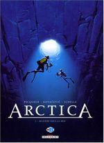 Couverture Mystère sous la mer - Arctica, tome 2