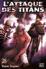 Couverture L'Attaque des Titans, tome 28