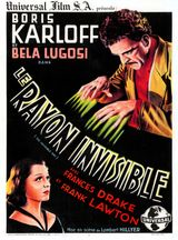 Affiche Le Rayon invisible