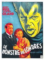 Affiche Le Monstre de Londres