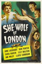 Affiche She-Wolf of London