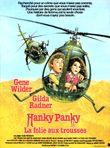 Affiche Hanky Panky : La Folie aux trousses