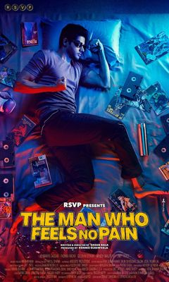 Affiche The Man Who Feels No Pain