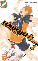 Couverture Haikyu !! Les As du volley, tome 1