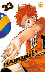 Couverture Haikyu !! Les As du volley, tome 33
