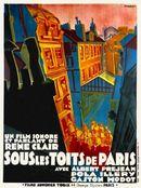 Affiche Sous les toits de Paris