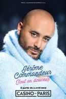 Affiche Jérôme Commandeur: Tout en Douceur