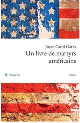 Couverture Un livre de martyrs américains