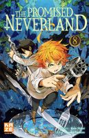 Couverture The Promised Neverland, tome 8