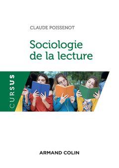 Couverture Sociologie de la lecture