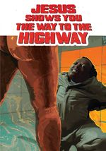 Affiche Jesus shows you the way to the Highway