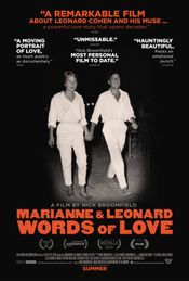 Affiche Marianne & Leonard: Words of Love