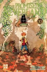 Couverture The Promised Neverland, tome 10