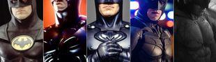 Cover Du meilleur au pire des films live de Batman