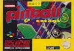 Jaquette Pinball Dreams