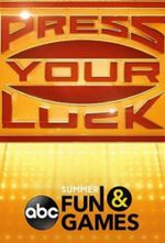 Affiche Press Your Luck (2019)