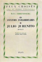Couverture Les aventures extraordinaires de Julio Jurenito