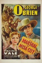 Affiche The Marshal of Mesa City