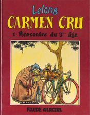 Couverture Rencontre du 3ème âge - Carmen Cru, tome 1