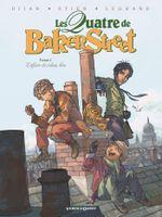 Couverture L'Affaire du Rideau bleu - Les Quatre de Baker Street, tome 1