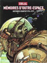 Couverture Mémoires d'outre-espace : 1974-1977
