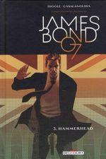 Couverture Hammerhead - James Bond, tome 3