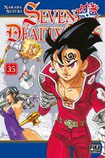 Couverture Seven Deadly Sins, tome 35