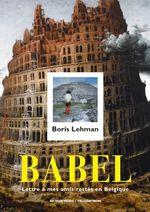 Affiche Babel: lettre à mes amis restés en Belgique