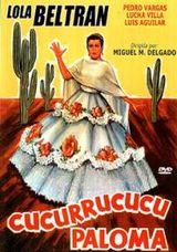 Affiche Cucurrucucú Paloma