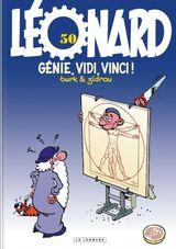 Couverture Génie, vidi, vinci, Léonard tome 50