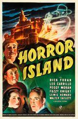 Affiche L'Île de l'épouvante