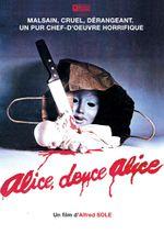 Affiche Alice, douce Alice