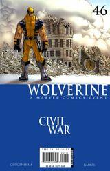 Couverture Wolverine #46