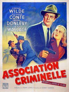 Affiche Association criminelle