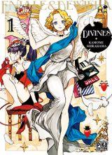 Couverture Divines : Eniale & Dewiela