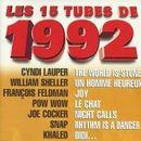 Pochette Les 15 tubes de 1992